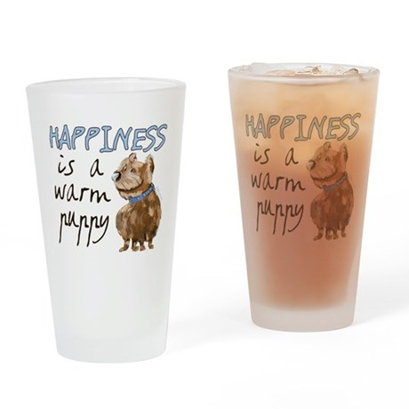 Happiness Pint Glass