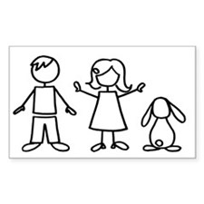 1 bunny family lop Decal