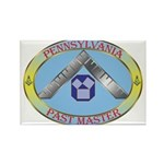 Pennsylvania Past Master Rectangle Magnet