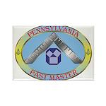 Pennsylvania Past Master Rectangle Magnet