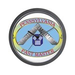 Pennsylvania Past Master Wall Clock