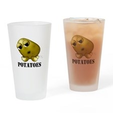 Potato Head with Toes Pint Glass