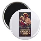 Tarzan Of The Apes Magnet