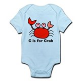 C is for Crab! Infant Creeper