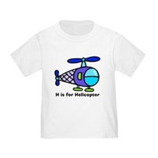 H is for Helicopter! T