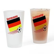 Germany Soccer Team Pint Glass