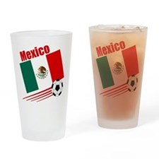 Mexico Soccer Team Pint Glass