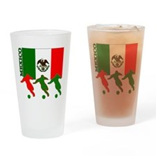 Soccer Mexico Pint Glass