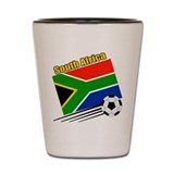 South Africa Soccer Team Shot Glass