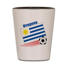 Uruguay Soccer Team Shot Glass