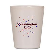 Washington DC Stars & Stripes Shot Glass