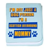 Scottish Deerhound Mommy baby blanket