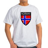 Norway Flag Patch T-Shirt