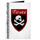 Pirate Red Patch Journal