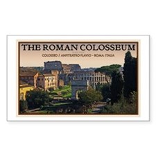 Colosseum from Forum Decal