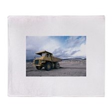 Proud Dump Truck Throw Blanket