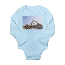 Back Hoe Loading Dump Truck # Long Sleeve Infant B