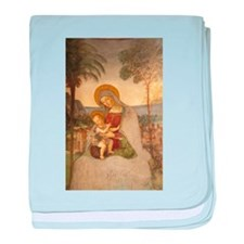 The Virgin Mary baby blanket