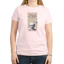 Tom Clarke - Women's Pink T-Shirt