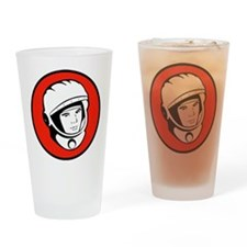Yuri Gagarin Icon Pint Glass