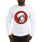Yuri Gagarin Icon Long Sleeve T-Shirt