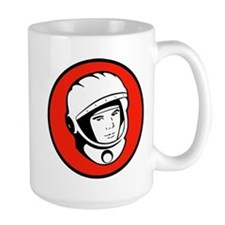 Yuri Gagarin Icon Large Mug