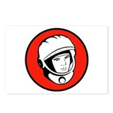 Yuri Gagarin Icon Postcards (Package of 8)