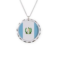 Cool Guatemalan flag designs Necklace