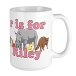 R is for Riley Large Mug