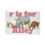 R is for Riley Rectangle Magnet