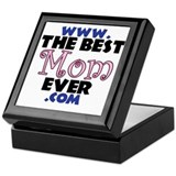 www.TheBestMomEver.com Mercha Keepsake Box