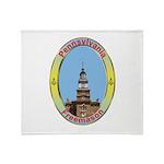 PA Freemasons Throw Blanket