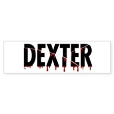 'Sliced' Dexter Bumper Sticker