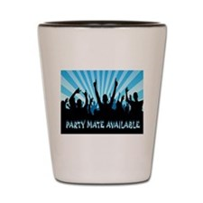PARTY TIME Shot Glass