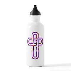 Criss Cross Stainless Water Bottle 1.0L