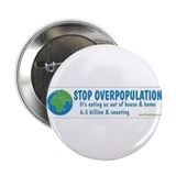 "Unique Save the environment 2.25"" Button (10 pack)"
