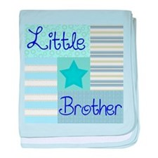Cute Baby brother baby blanket