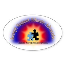 Beyond Awareness (Autism) Decal