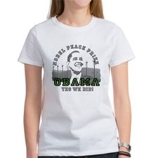 Obama Peace Prize Windmills Tee
