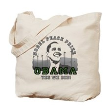 Obama Peace Prize Windmills Tote Bag