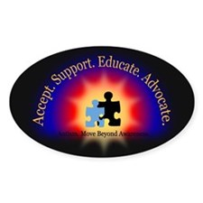 Beyond Awareness (Autism) Dark Decal