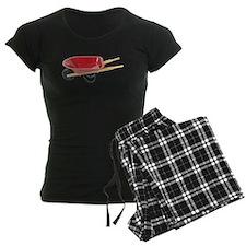 Red Wheelbarrow pajamas