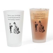 Birthday Overshadowed Pint Glass