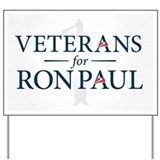 Veterans For Ron Paul Yard Sign