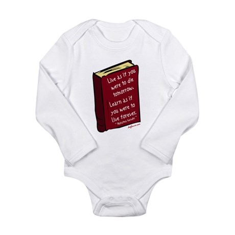 Live Long Sleeve Infant Bodysuit