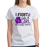 Fight Like A Girl Fibromyalgia Tee