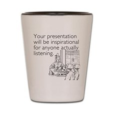 Inspirational Presentation Shot Glass