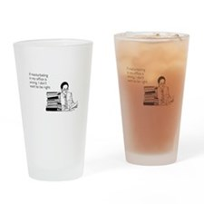 Office Masturbation Pint Glass