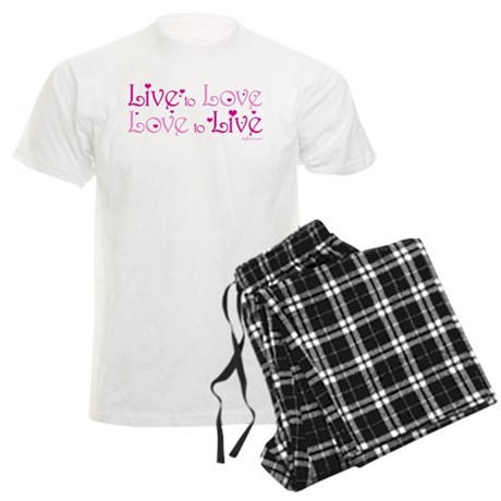 Live to Love Men's Light Pajamas