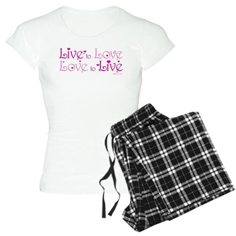 Live to Love Women's Light Pajamas